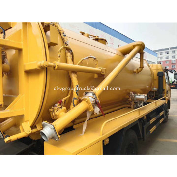 Dongfeng Vacuum Sewage Suction Truck new septic tank