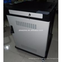 Station de charge de téléphone portable de casier de sécurité de ZMEZME chargeant le chariot de sécurité pour des ipads