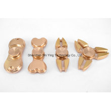 Hot Finger Spinner Torqbar Brass EDC Toys Spinner Fidget (Gold)
