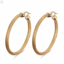 Fine Rose Gold Round Delicate Earrings Jewelry Import From China