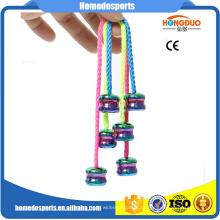 Novo produto Metal Fidget Yoyo bola Thumb chucks Begleri Beads preço por atacado