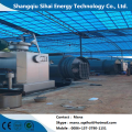 Fuel oil from waste tires recycling pyrolysis machine