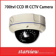 700tvl 960h Seguridad Cámara CCTV CCD de domo a prueba de vandalismo