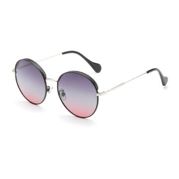 hot selling high quality Polarized womens fashion round sunglasses trendy