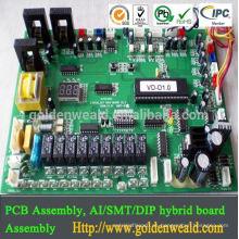 Asambleas de PCB de alta calidad para el controlador de potencia con todas las piezas de abastecimiento de montaje de pcb led