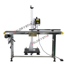 PP, PE Cosmetic Laser Marking Machine for Batches Number/Date