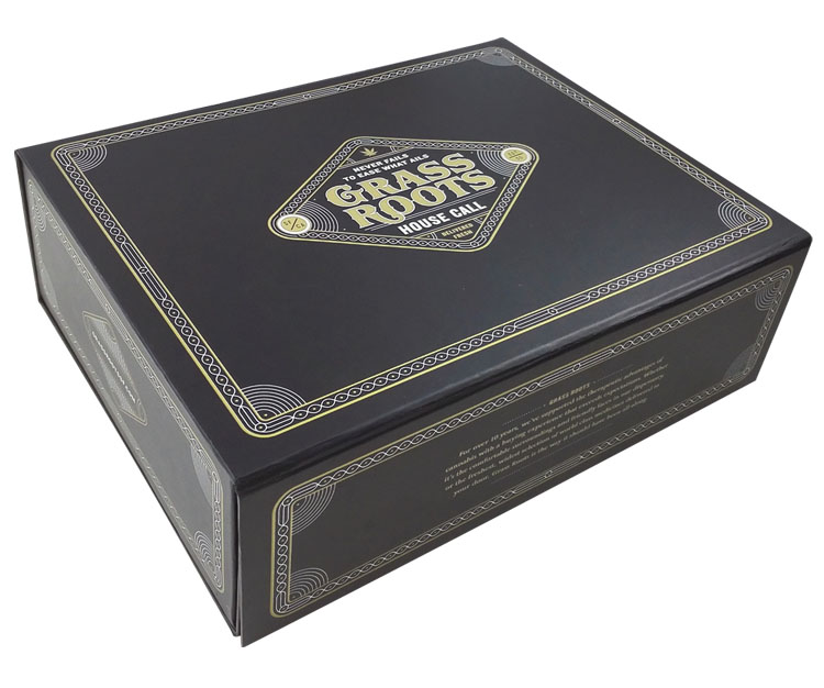 Custom Cardboard Rigid Box with Foam Padding