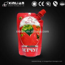 Алюминиевая фольга выложены мешок носик / doypack для соков, сливочное масло