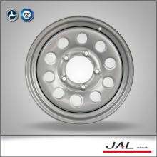 Silber Farbe 5.5x15 Räder aus Stahl Auto Felgen Räder