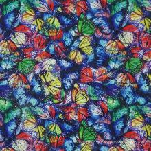 Oxford 600d impressão de flores tecido de poliéster (kl-21)