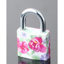 Colorful Padlock for Gift Painted Plating Padlock for Bag