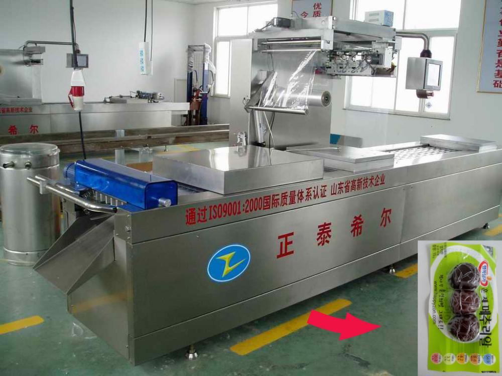 Meat Vacuum Packing Machine Preventing Being Fragmental