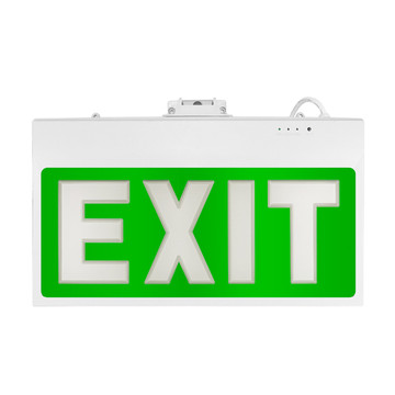 Acrylic Fire Exit Arrow Zeichen