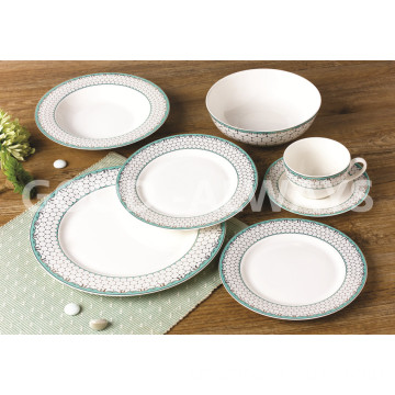 New Bone China Goldgeschirrset