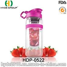32oz Large Tritan Fruit Infusion Bottle, Customized Plastic Water Bottle (HDP-0522)