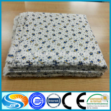 Bebê produto 100% algodão flanela tecido flanela camisa manta de flanela