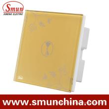 Interruptores de 1 cuadrilla Interruptor de control doble de control remoto y control de pared