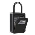 Eastommy NEW key storage lock box, outdoor key  lock box, metal box with lock
