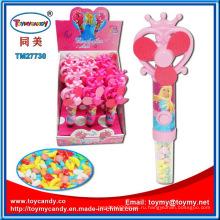 Горячие забавные мини вентилятор игрушка конфеты с батареей для детей