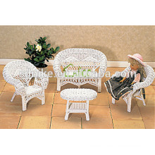 2014 hot sale latest design high quality colorful eco-friendly rattan child model furniture