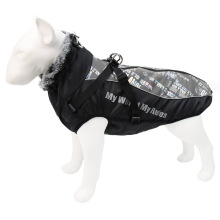 cute pet fashion dog clothes high quality outdoor warm dog clothes
