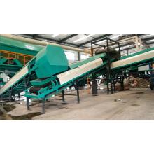 Máquinas de triagem de parafuso de planta de lixo urbana automática para classificação msw com CE ISO