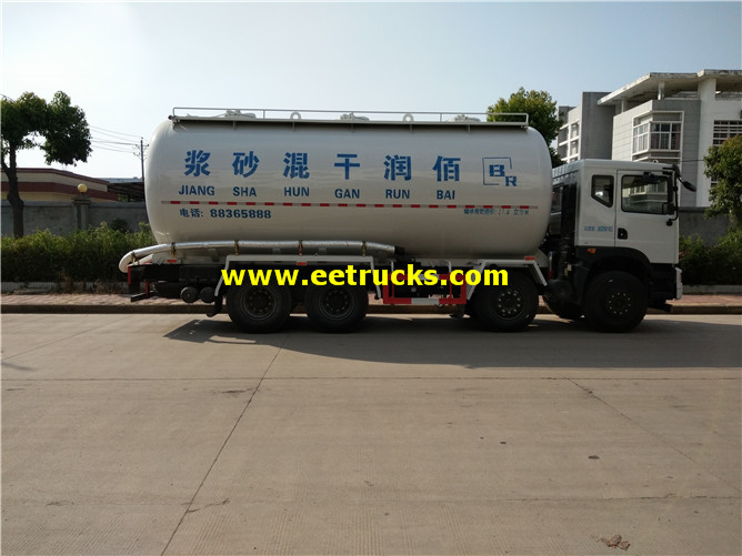 DFAC Bulk Cement Delivery Tanker Trucks