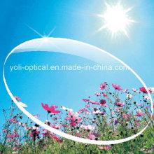 75 / 72mm Arcrylic Spherical UV400 1.60 Lentes ópticas Hmc com EMI