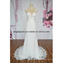 Fashion Mermaid Damen Hochzeitskleid Kleid