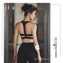 Woman Yoga Bra Sport Bra Lingerie Quakeproof Cup shape Sport clothes