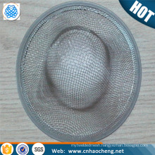 New Home Kitchen Sink Drain Strainer Stainless Steel Mesh Basket Strainer