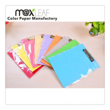 A4 Assorted Colors Colorful Paper Clipboard
