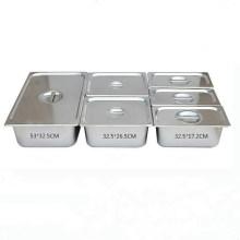 Дополнительный размер Gastronorm GN из нержавеющей стали готовит лоток для еды