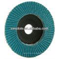 grosso / médio / fine zircônia flap disco de alumina da china
