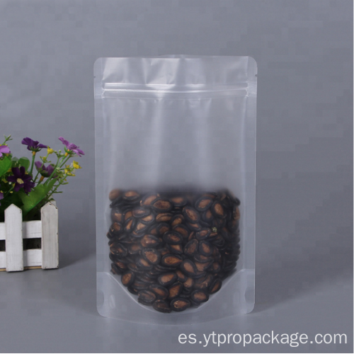 Promotion cheap price nylon clear plastic zipper pouch