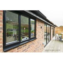 Condensation Channel Double Glass Aluminium Windows