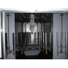 metal coating spray system