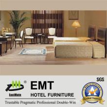 Concise Style Hotel Muebles Twin-Bed Room Conjuntos (EMT-B0663)