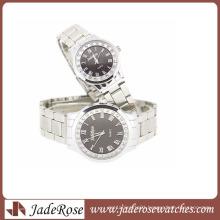 Fashion Couple Watch All Alloy Quartz Watches