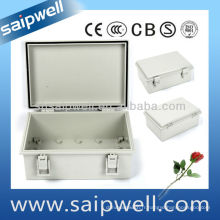 Boîte étanche porte ABS gris 150 * 200 * 100mm (avec serrure)