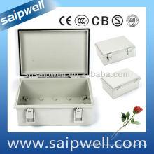 150*200*100mm ABS Gray Door Waterproof Box (with lock)