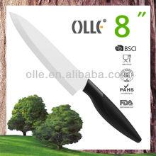 8'' White Ceramic Blade Professional Super Sharp Chef Knife