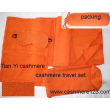Juego de viaje tejido de cachemira (TY207)