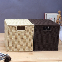 (BC-RB1008) Good-Looking Handcraft Paper Rope Basket