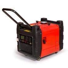 3600 kVA 3.6kw Portable Digital Inverter Gasoline Generator with Key Starter Home Use