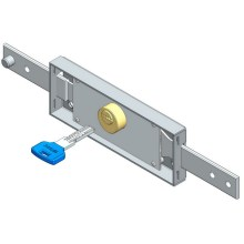Center Roller Shutter Lock med Dimple Key