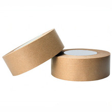 Yellow Adhesive Reinforced Kraft Paper Tape For Customization