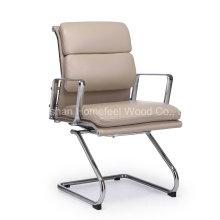 Chaise de réunion moderne en cuir en cuir PU (HF-26E5H)