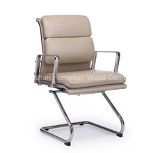 Cadeira de reunião de escritório de couro PU moderna (HF-26E5H)