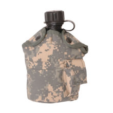 Military Us Waterbottle with Cantan Cover